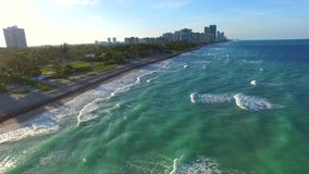 Aerial video of Golden Beach FL 2. Aerial 4k video of Golden Beach FL stock video