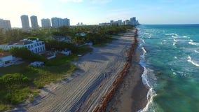 Aerial video of Golden Beach FL 3. Aerial 4k video of Golden Beach FL stock video