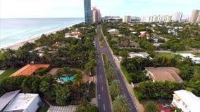 Aerial video Golden Beach FL. Stock aerial video of Golden Beach FL stock video
