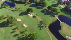 Aerial video golf course 4