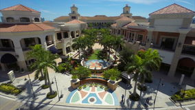Aerial video of Gulfstream Park Hallandale FL Royalty Free Stock Photos