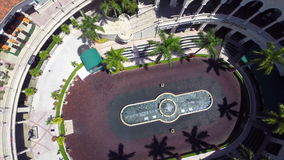 Aerial video of the Gulfstream Park stock footage