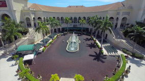 Aerial video Gulfstream Park stock video