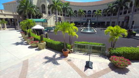 Aerial video Gulfstream Race Track and Casino Royalty Free Stock Images
