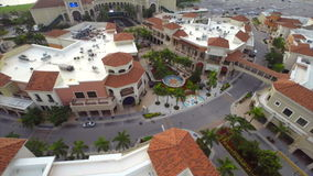 Aerial video Gulfstream race track stock video footage