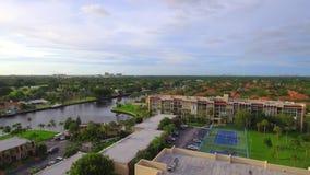 Aerial video Hallandale Beach FL stock video footage