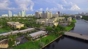 Aerial video Hallandale Florida stock video