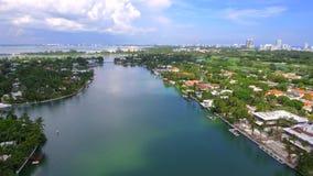 Aerial video Hallandale Florida stock video footage