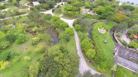 Aerial video Metro Zoo Miami Royalty Free Stock Photo