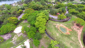 Aerial video Metro Zoo Miami Stock Image
