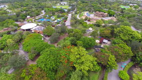 Aerial video Metro Zoo Miami Stock Images