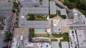 Aerial video Miami Beach architecture Stock Image