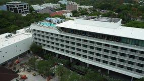 Aerial video Mr C Hotel Miami Coconut Grove
