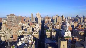 Aerial video New York Manhattan