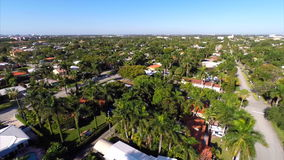 Aerial video of a residential housing neighborhood. Aerial video of a residential neighborhood stock footage