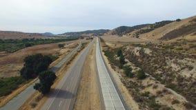 Aerial video of San Ardo California stock video footage