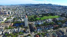 Aerial video San Francisco 4k stock video footage