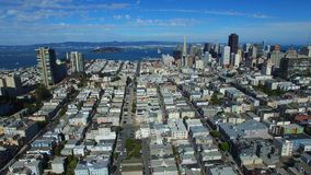 Aerial video San Francisco 4k stock footage