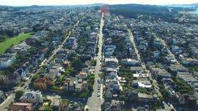 Aerial video San Francisco 4k stock footage