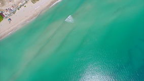 Aerial video of Sunny Isles Baech Royalty Free Stock Photo