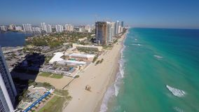 Aerial video Sunny Isles Beach FL stock video footage
