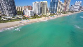 Aerial video Sunny Isles Beach FL. 4k aerial video of Sunny Isles Beach FL stock video
