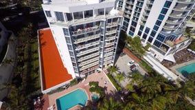 Aerial video Sunny Isles Beach FL. 4k aerial video of Sunny Isles Beach FL stock footage