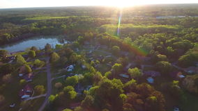 Aerial video tallahassee FL stock video footage
