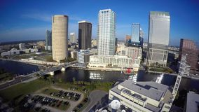 Aerial video of Tampa 4k uhd video stock video footage