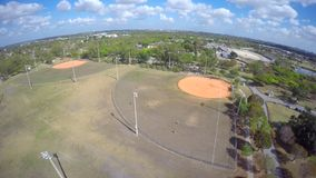 Aerial video Tropical Park Miami 4k stock video