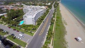 Aerial video West Palm Beach. Aerial drone video West Palm Beach FL stock video footage