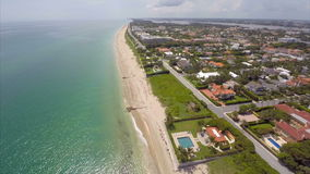 Aerial video West Palm Beach stock footage