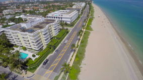 Aerial video West Palm Beach FL. Aerial drone video West Palm Beach FL stock video footage