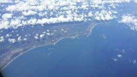 Aerial Vietnam coast Stock Images