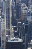 Aerial view of 5th Avenue Royalty Free Stock Image