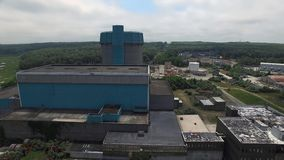 Abandoned Nuclear Power Plant 14 stock image