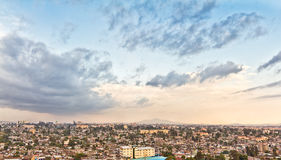 Aerial view of Addis Ababa Stock Photography