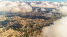 Aerial view of Addis Ababa Royalty Free Stock Images