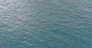 Ocean waves. Aerial view. Aerial drone footage of ocean waves stock footage