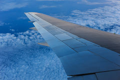 Aerial view from an airplane Royalty Free Stock Images