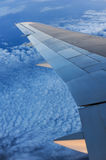 Aerial view from an airplane Royalty Free Stock Photo