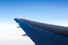 An aerial view from an airplane Stock Images