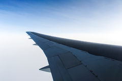 An aerial view from an airplane Stock Image
