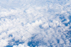 Aerial view from airplane Stock Photography