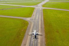 Aerial view of airport Royalty Free Stock Images