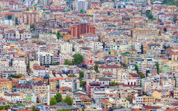 Aerial view of Alanya roofs Royalty Free Stock Photo