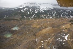 Aerial view of alaskan wilderness Royalty Free Stock Image