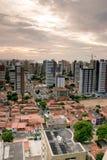 Aldeota, Fortaleza, Brazil, in 2005. Aerial view of Aldeota, Fortaleza city, Ceará, Brazil, circa 2005 royalty free stock photography