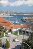Aerial view of Alexandroupolis Stock Photo