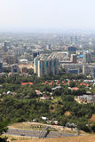 Aerial view of Almaty Royalty Free Stock Photo